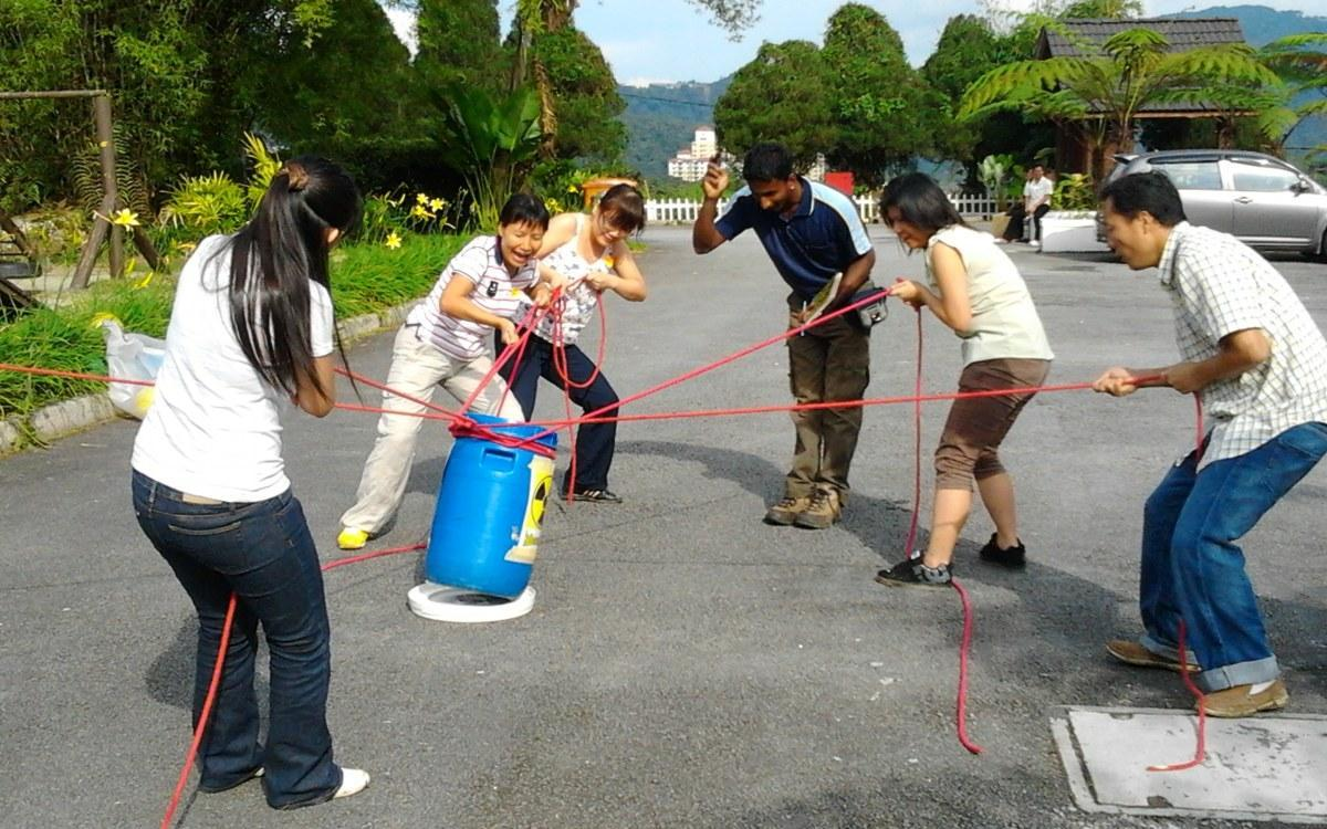 Team Building Activities In The Clean Air Of Cameron Highlands